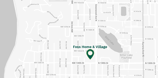 Map of Foss Home & Village